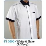 White & Navy (P/Navy)