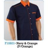 Navy & Orange (P/Orange)
