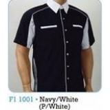 Navy & White (P/White)