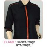 Black & Orange (P/Orange)