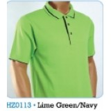 Lime Green & Navy